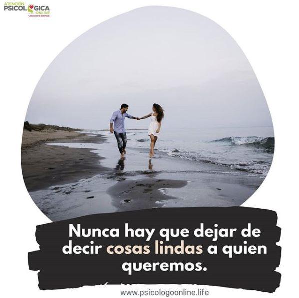 Una bonita frase puede alegrarle el día a una persona a la que quieres mucho